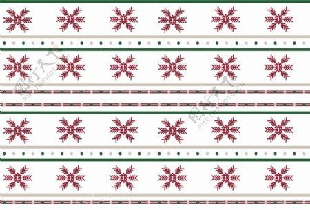 圣诞风格四方连续图案图片