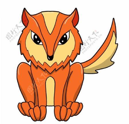 小狐狸矢量图图片