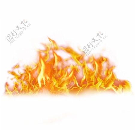 黄色火焰图片