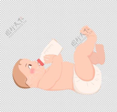 可爱卡通手绘宝宝png图片