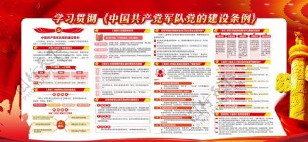 中国共产党军队党的建设条例图片