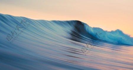 大海海水海浪风景背景图片