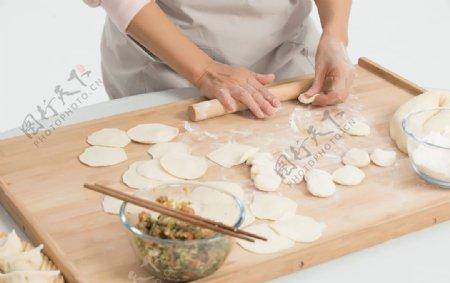 冬至饺子图片